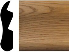 Chicago Bar Rail Moulding 1-1/8 in. x 4-1/2 in. x 96 in. Solid Red Oak Hardwood