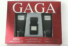 Lady Gaga Eau De Gaga Gift Set Sh. Gel 2.5oz+Eau De Parfum 0.5oz+Body Lot.2.5oz