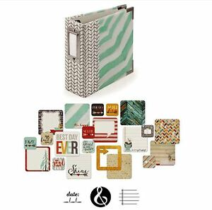We R memory Keepers 4x4 Ring Album Kit~ SHINE -20pgs,100cards ~62510-0