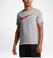 NEW NIKE Men's SZ M DRI FIT COTTON TEE T Shirt Athletic Cut Top 839893 063