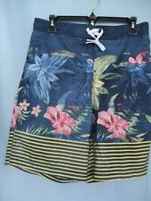 NEW SPEEDO SMALL MENS TROPICAL PRINT LINED BOARD BATHING SUIT $20