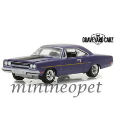 GREENLIGHT 44800 D 1970 PLYMOUTH ROAD RUNNER GRAVEYARD CARZ 1/64 PURPLE