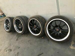"Rims Wheels Tires Porsche 18"" X 10"" & 18"" X 8"" 911 996 Carrera 99185 Staggered"
