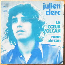 Scarce Julien Clerc - Le Coeur Volcan & Mon Alezan - French Press 1971