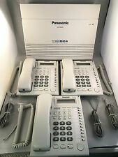 Panasonic Telephone System Package - KX-TES824 + 3 x KX-T7730 Phones - NEW
