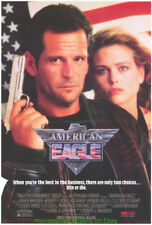 AMERICAN EAGLE MOVIE POSTER 27x40 Original 1989 ASHER BRAUNER