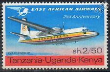 East African Airways Fokker F27 Friendship avión aeronave Sello