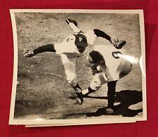1962 World Series NY Yankees Roger Maris Press Photo Old Baseball Giants Antique