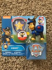 New Nickelodeon Paw Patrol Chase Hero Pup Action Figure And Badge