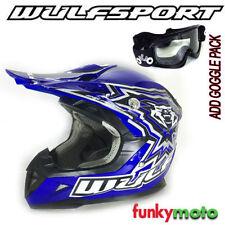 Cascos Wulfsport motocross y quads para conductores
