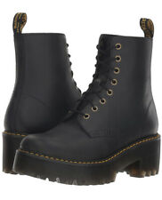 Dr. Martens Women's Shriver Hi Black Smooth Leather 8 Eyelet Boots Size 11.