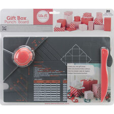 American Craft We R Memory Keepers Gift Box Punch Board
