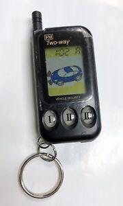 NOS Crimestopper OARM447675 LCD Remote / 3 Button Transmitter