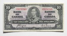 More details for  canada 10 dollars 1937 vf p-24