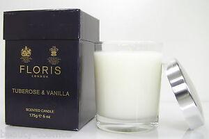 Floris London  Tuberose & Vanilla 175g Scented Candle/Duftkerze