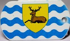 Hertfordshire County Flag Tag - Trackable For Geocaching (Travel Bug Geocoin)