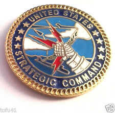 UNITED STATES STRATEGIC COMMAND Military Veteran US AIR FORCE Hat Pin 15818 HO