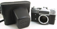 1979! KMZ OLYMPIC ZENIT-E Russian Soviet USSR SLR 35mm Camera M42 Body & Case