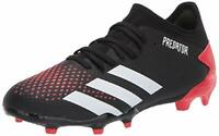 adidas Men's Predator 20.3 Firm Ground Soccer Shoe, Black, Size 9.0 jWzh