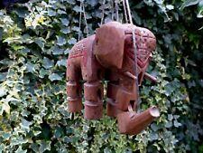 VINTAGE WOODEN PUPPET MARIONETTE ELEPHANT DESIGN BEAUTIFUL CONDITION, ORIGINAL