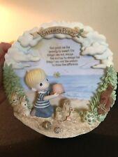 Precious Moment - Serenity Prayer Collector Plate