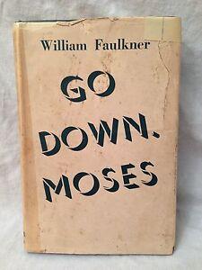 William Faulkner - Go Down Moses - 1st/1st 1942 Chatto, Original Jacket, Scarce