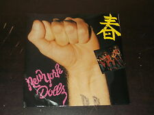 "THE NEW YORK DOLLS ORIGINAL 45 RPM RECORD PILLS CLEAR VINLY 7"" FAN CLUB NEW ROSE"