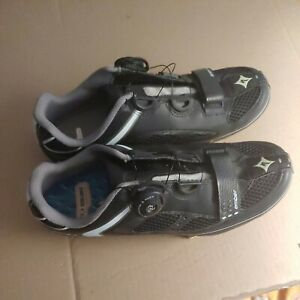NOS Specialized Women's Ember Road Shoes Black w/White BOA. Size 9 U.S