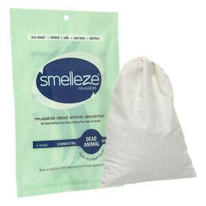 SMELLEZE Reusable Dead Animal Smell Eliminator Deodorizer: Rids Rotting Odor