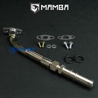 MAMBA SAAB 9000 B202F B234L Garrett TB25 Mitsubishi TD04HL turbo oil return pipe