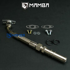 Turbo Oil Drain Return Pipe Kit SAAB 9000 B202F B234L Garrett TB25 MHI TD04HL
