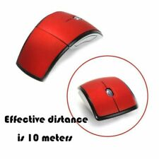 2.4G Wireless Foldable Mouse Mini-Travel Notebook Mute Mouse Laptop USB Receiver