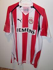 Puma Trikot Shirt Olympiakos Piräus Griechenland XL Weiß-Rot Jersey