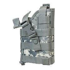 NcStar Vism Tactical Ambidextrous Modular MOLLE Pistol Handgun Holster Digi ACU