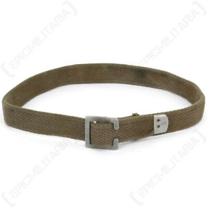 Original German Webbing Strap - Surplus Army Military Strapping Canvas Field