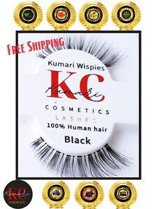 Kumari Cosmetics 100% Handmade Human Hair Cruelty Free & Vegan Natural Lashes