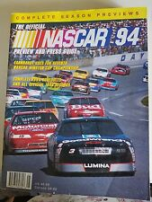 THE OFFICIAL NASCAR YEARBOOK AND PRESS GUIDE 1994