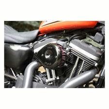 S&S Nero Mini Teardrop Stealth Filtro Aria Kit per Harley-Davidson Softail Dyna