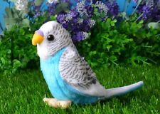 small cute plush parrot toy new blue bird doll gift about 12cm