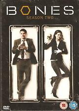 BONES - Series 2. Emily Deschanel, David Boreanaz (NEW/SEALED 6xDVD BOX SET '07)