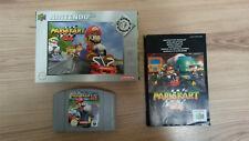 N64 Mario Kart 64 PAL English komplett mit OVP Anleitung boxed manual
