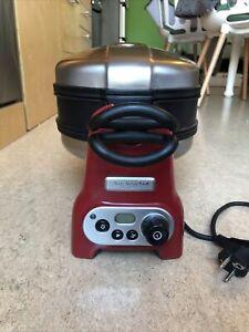 Kitchen Aid Waffeleisen Artisan Waffle Baker Rot 5KWB100EER-00