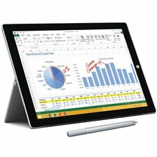 MICROSOFT SURFACE 3 PRO INTEL CORE i7 256GB SILVER WINDOWS TABLET PC KAMERA