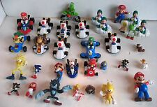 Lot Video Game Action Figure Toys PVC Cake Topper Mario Kart Nintendo Sonic 1