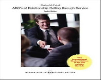 ABCs of Relationship Selling by Charles M. Futrell (Paperback, 2013)
