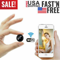 Mini Micro SPY HD Cam Hidden Camera Video DVR Recording Wireless Security Cam US