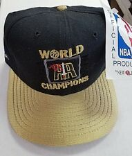 quality design a350a f5baa 1994-95 1995 Houston Rockets World Champions NBA Finals Snapback Cap Hat NWT