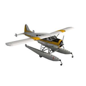 1:32 Scale 3D Paper Model 45cm DHC-2 De Havilland Beaver Seaplane Plane Aircraft