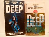 The Deep 1977 film (VHS and Movie Tie-In Paperback) Nick Nolte