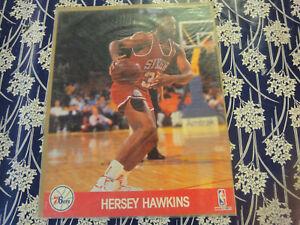 Hersey hawkins 76ers  NBA HOOPS basketball 8x10 glossy photo NEW sealed promo